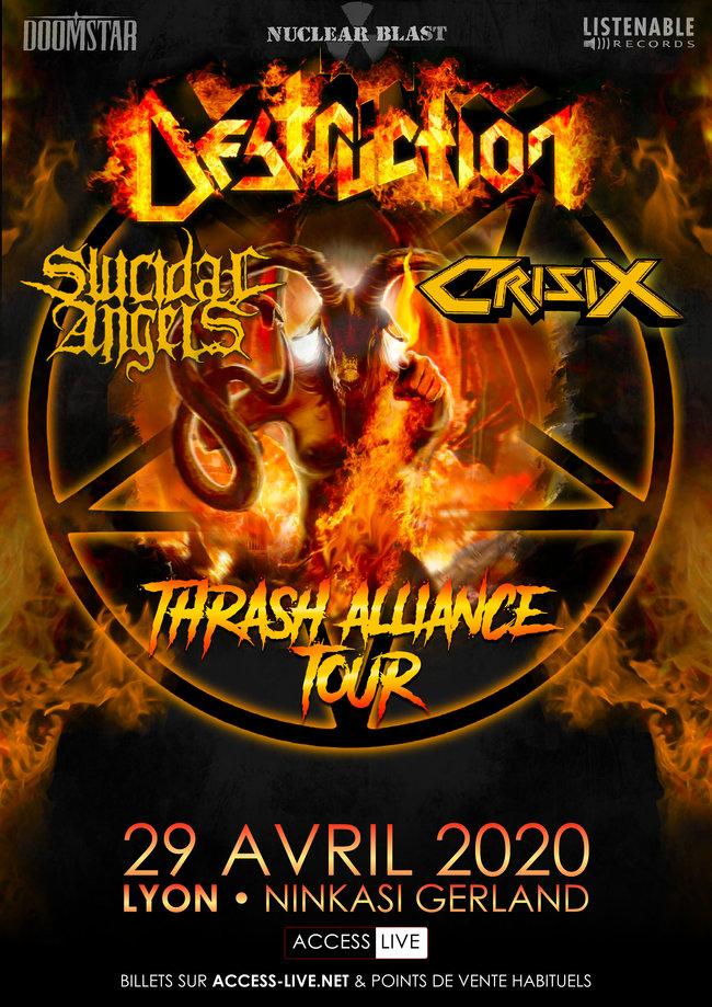 DESTRUCTION [Lyon - 69] > 29-04-2020