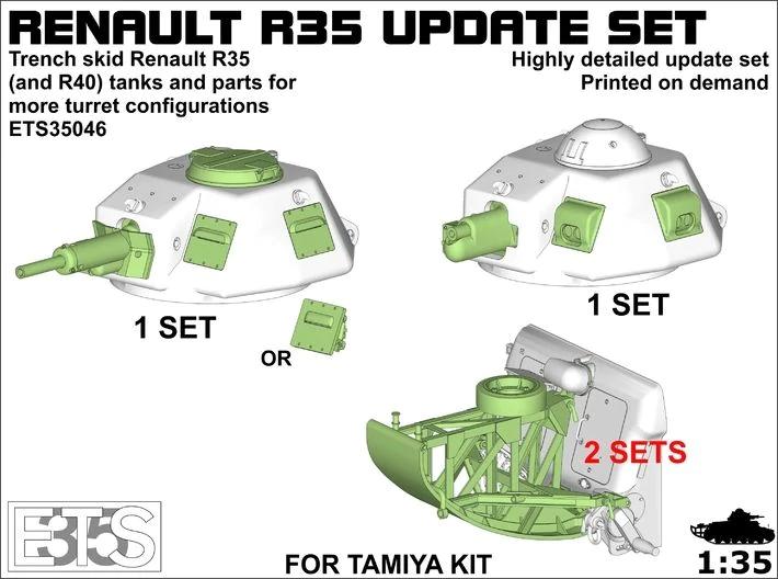 1/35 TAMIYA RENAULT R35 Ar9eG