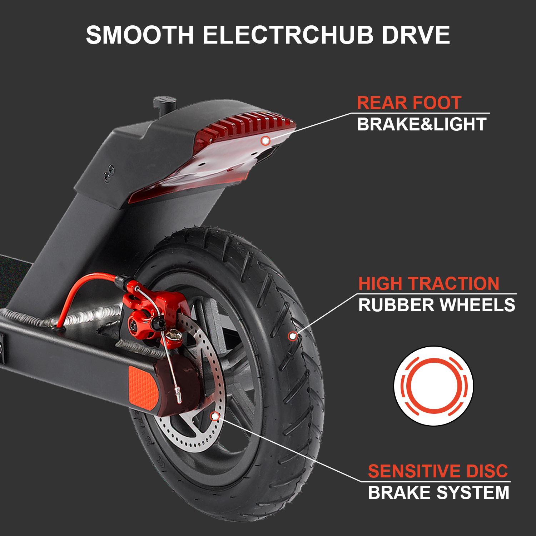 Trottinette electrique Niubility N1 Vitesse maximale 25 km/h Charge 120 kg Noir le meilleur scooter électrique 2020