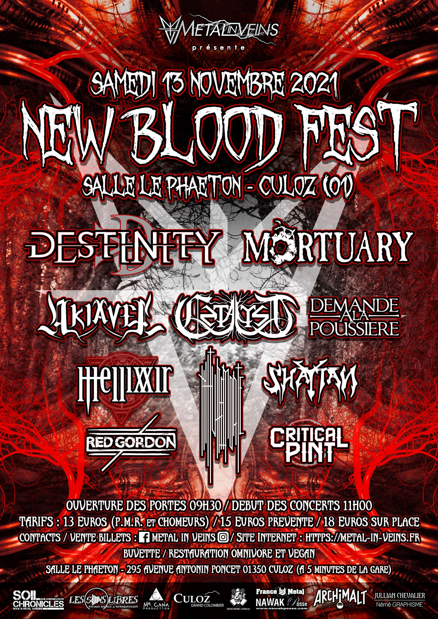 NEW BLOOD FEST [Culoz - 01] > 13-11-2021