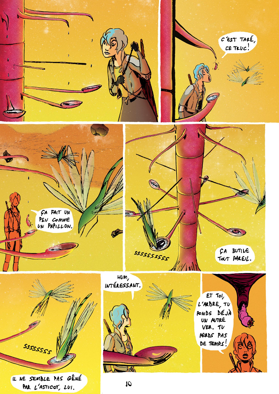 Projet BD SF/ Comics WEIRD BgbgQ