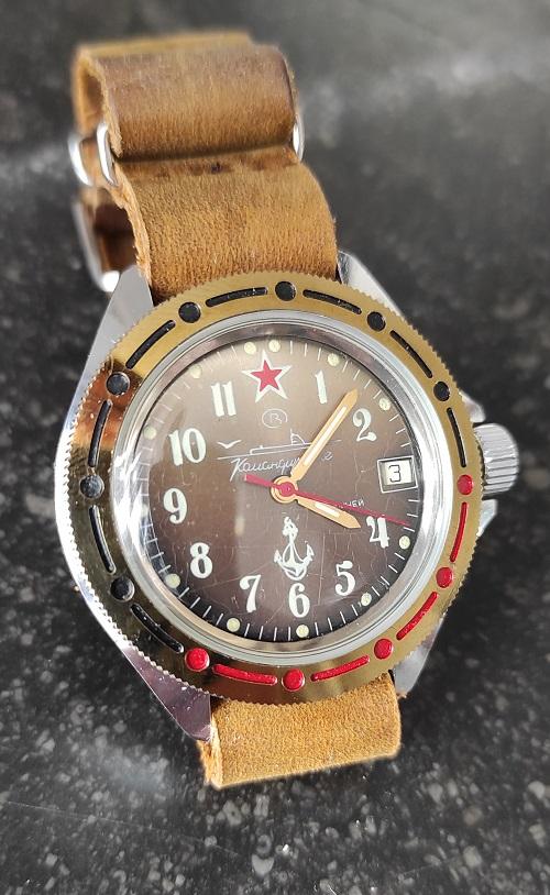 "Vostok ""sous-marins"" D0j2O"