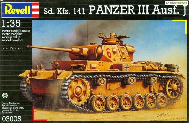 PANZER III J 5 cm KURTZ D.A.K 1/35 REVELL D52XO