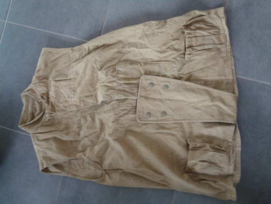 veste sans manche et queue de castor  D7xWd