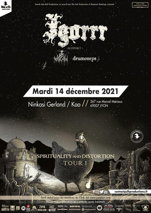 IGORRR [Lyon - 69] > 14-12-2021