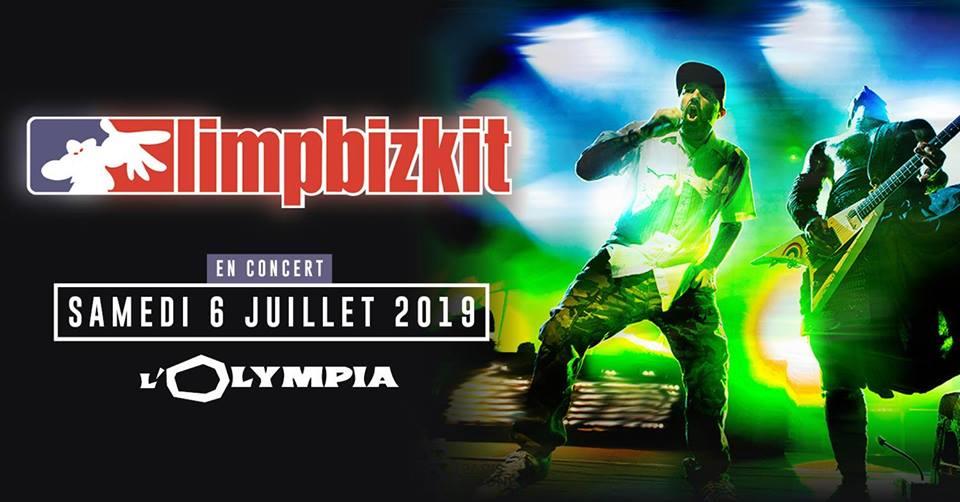 LIMP BIZKIT [Paris - 75] > 06-07-2019