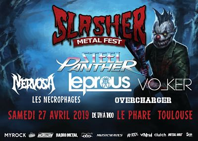 SLASHER METAL FEST [Toulouse - 31] > 27-04-2019
