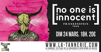 NO ONE IS INNOCENT [Bourg-En-Bresse - 01] > 24-03-2019