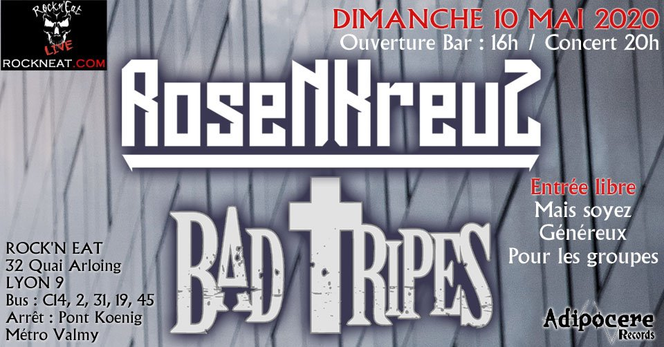 ROSENKREUZ [Lyon - 69] > 10-05-2020