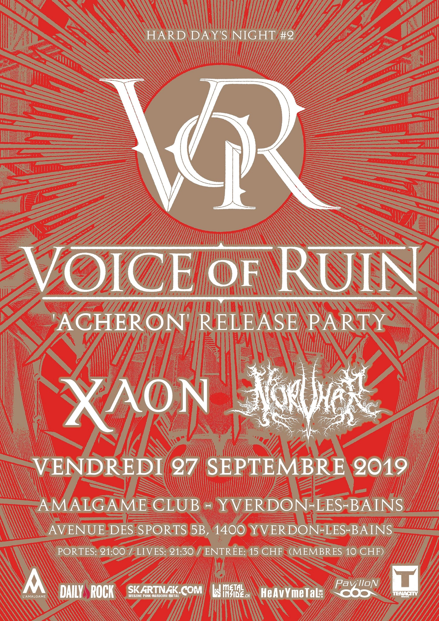 CONCOURS CONCERT : VOICE OF RUIN (VERNISSAGE)