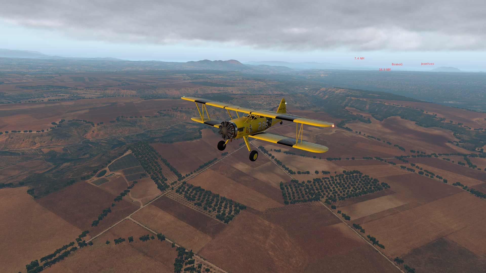 FSX-France Air Vintage Etape 7 EVYLD