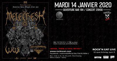 MELECHESH [Lyon - 69] > 14-01-2020