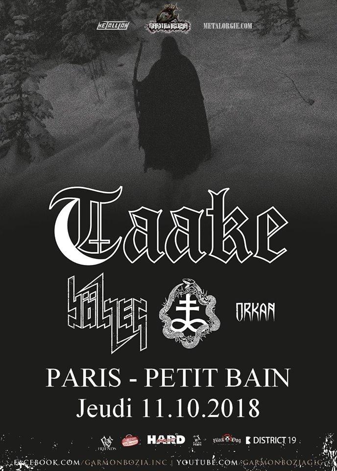 TAAKE [Paris - 75] > 11-10-2018