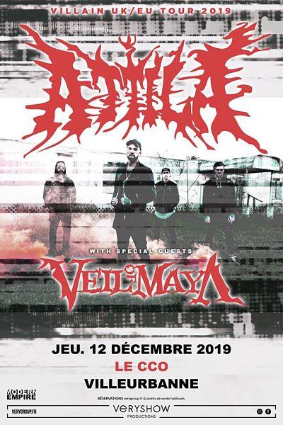 ATTILA [Lyon - 69] > 12-12-2019