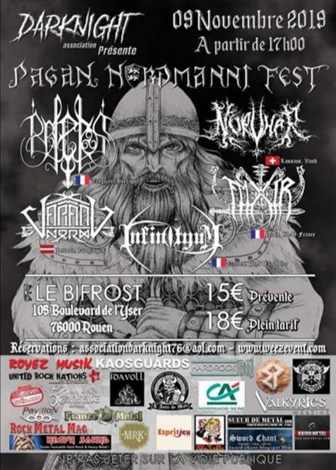 PAGAN NORDMANNI FEST [Rouen - 76] > 09-11-2019