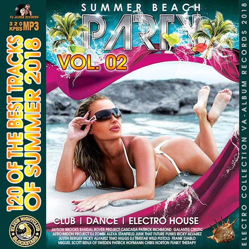Summer Beach Party Vol 2 (2018) 6 CD [Mp3-320Kbps]