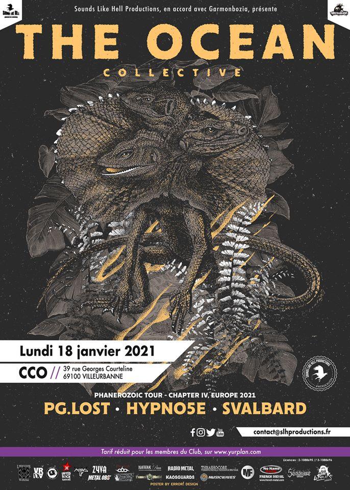 THE OCEAN [Lyon - 69] > 18-01-2021