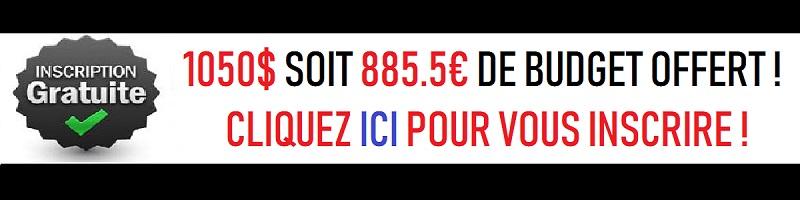 Obtenez 843,40€ sur un compte de trading en direct