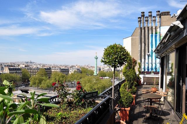 lieux à louer Paris été