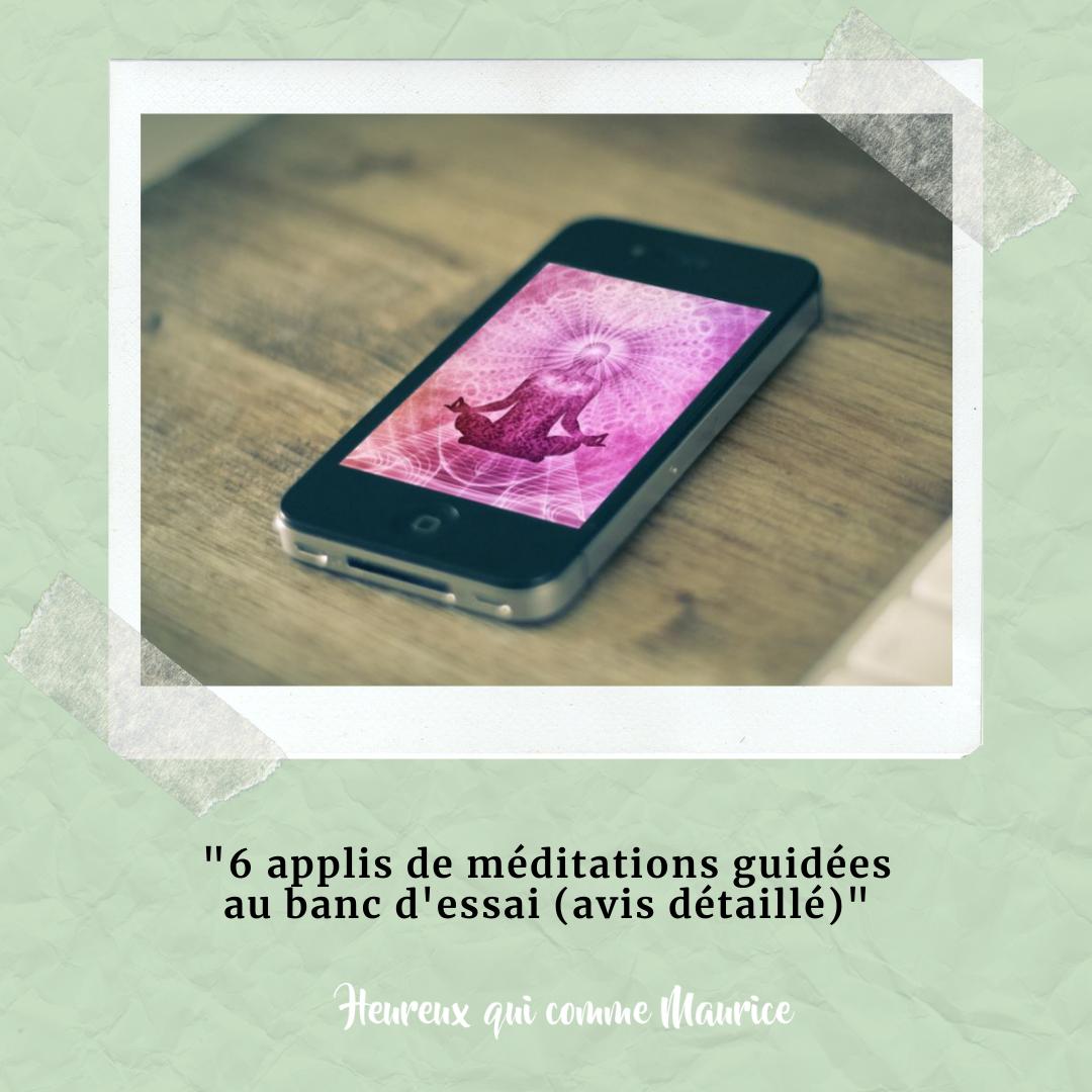 Quelle est la meilleure application de méditation guidée ?