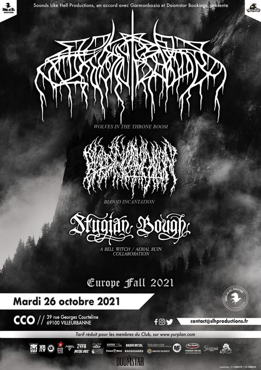WOLVES IN THE THRONE ROOM [Lyon - 69] > 26-10-2021