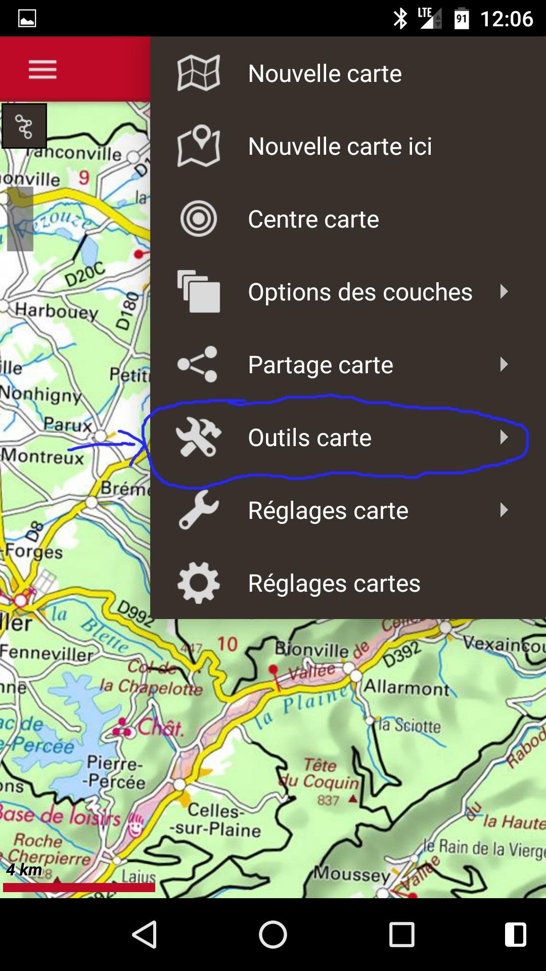 cartes ign pour oruxmaps