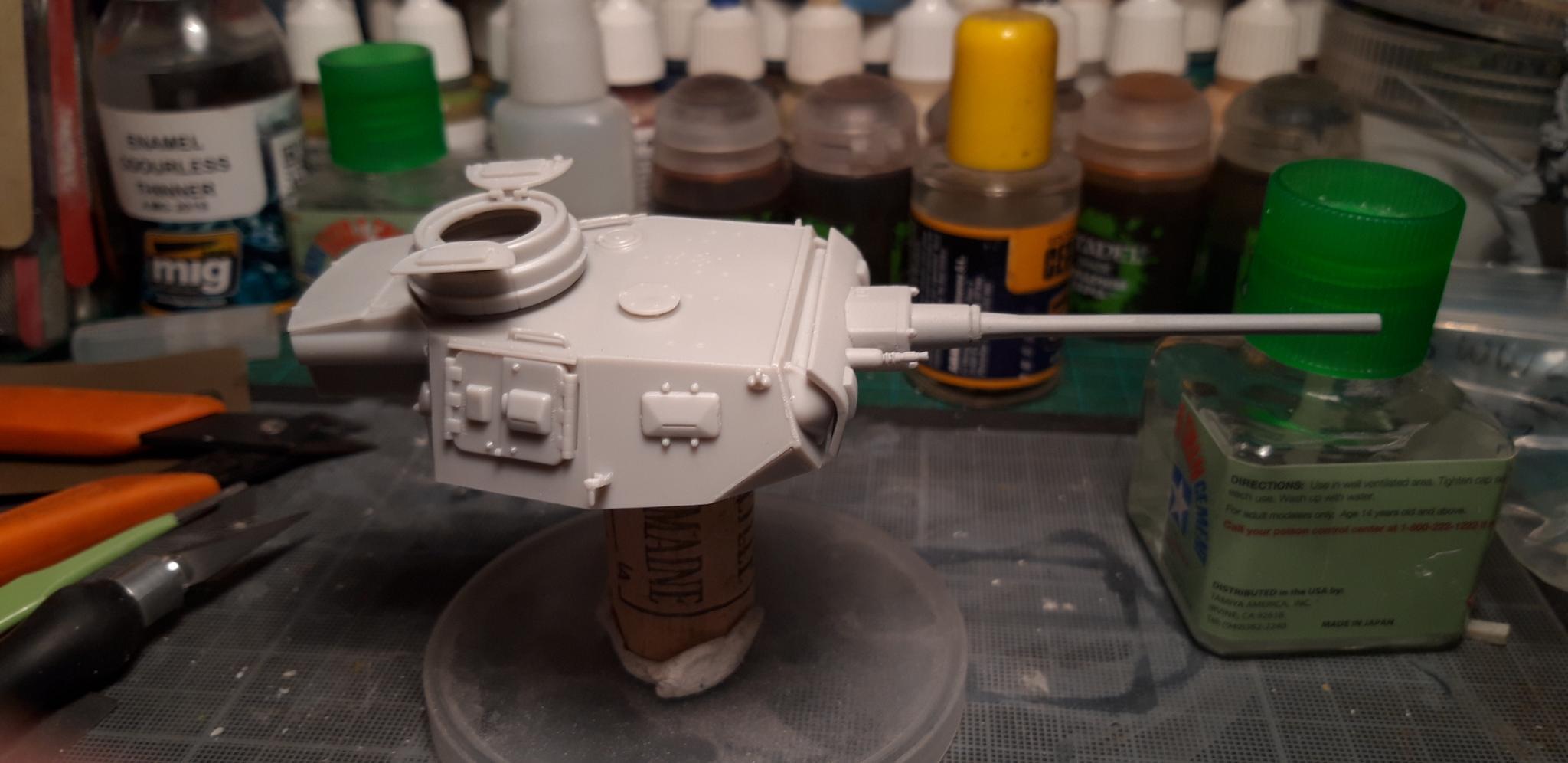 tourelle panzer III lang