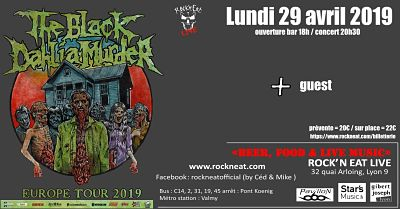 THE BLACK DAHLIA MURDER [Lyon - 69] > 29-04-2019