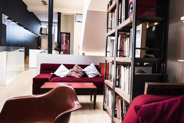 location loft contemporain paris