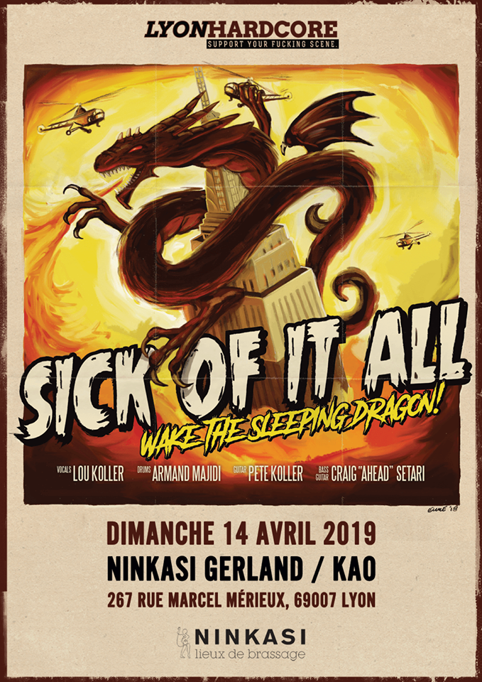 SICK OF IT ALL [Lyon - 69] > 14-04-2019