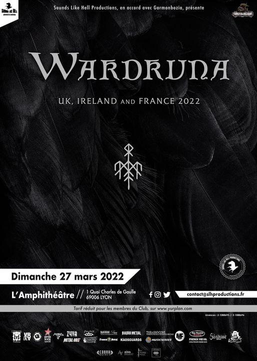 WARDRUNA [Lyon - 69] > 27-03-2022