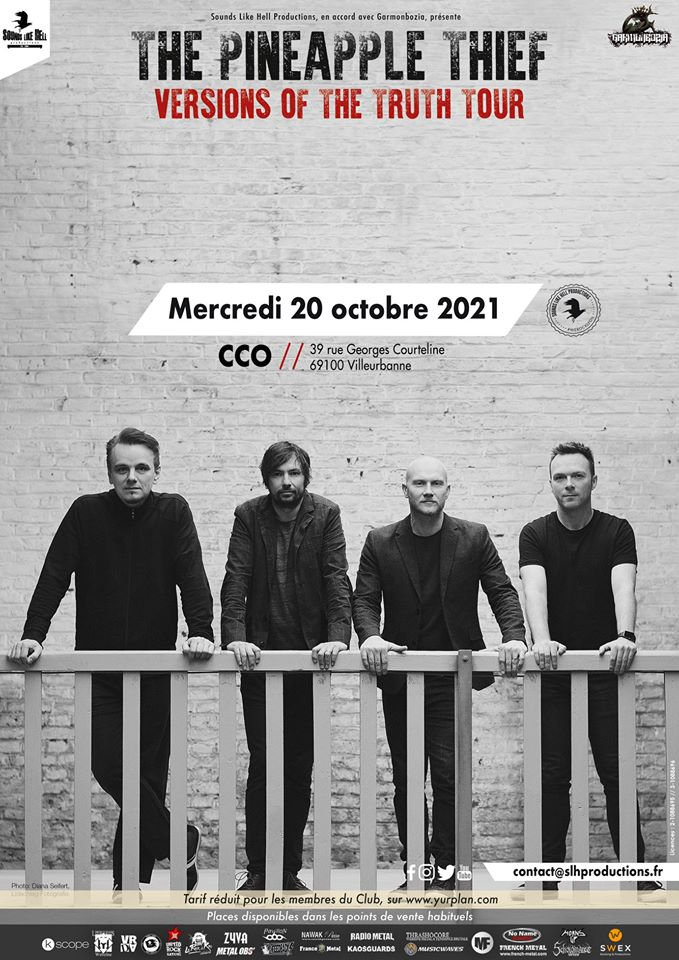 THE PINEAPPLE THIEF [Lyon - 69] > 20-10-2021