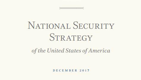 استراتيجية الأمن القومي الامريكي – ديسمبر 2017