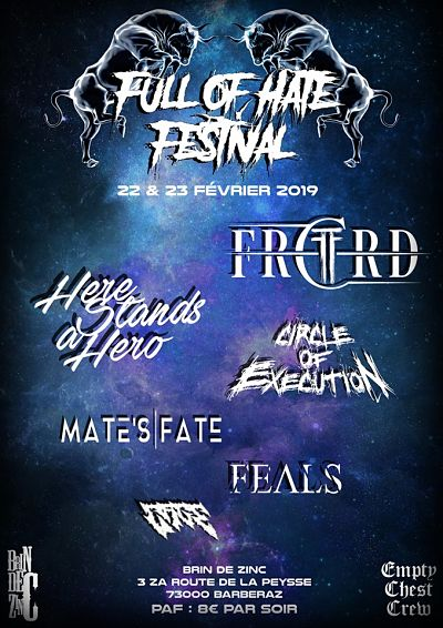FULL OF HATE FESTIVAL [Chambéry - 73] > 22-02-2019