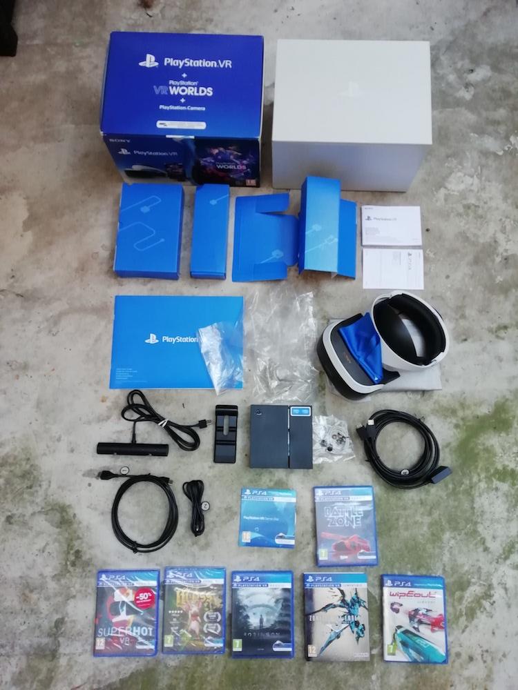 Pack PSVR, PS2 FF12 Complet, jeux PS1, 2, 3, 4, Vita, PSP N3lwp