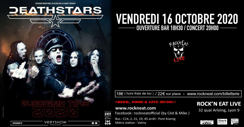 DEATHSTARS [Lyon - 69] > 16-10-2020