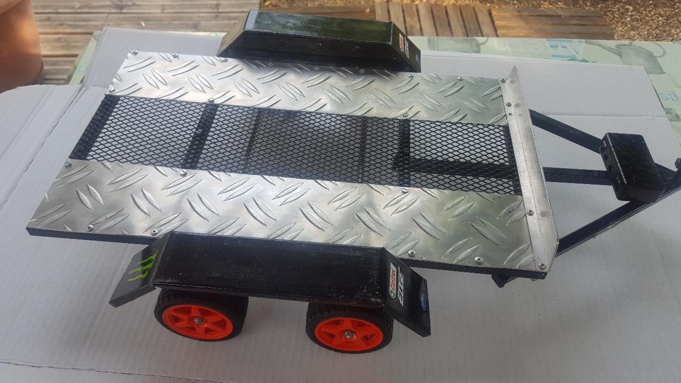 Fabrication remorque plateau à suspension ou balancier NV4EX