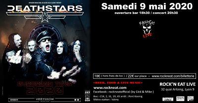 DEATHSTARS [Lyon - 69] > 09-05-2020