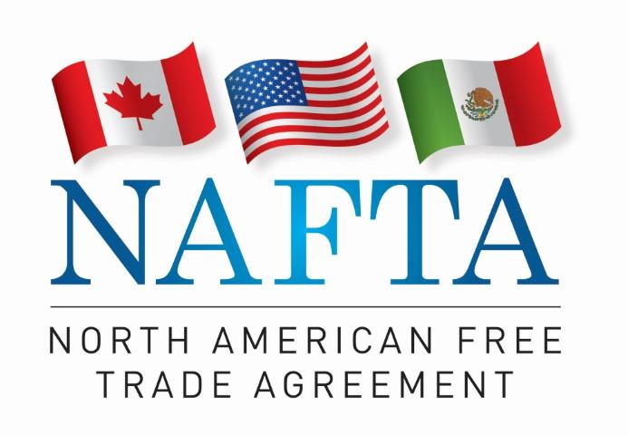 """تأثير تكتل اتفاقية التجارة الحرة لامريكا الشمالية""""nafta"""" على التوزيع الجغرافي للأنشطة الصناعية في المكسيك"""