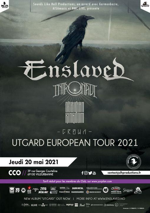 ENSLAVED [Lyon - 69] > 20-05-2021