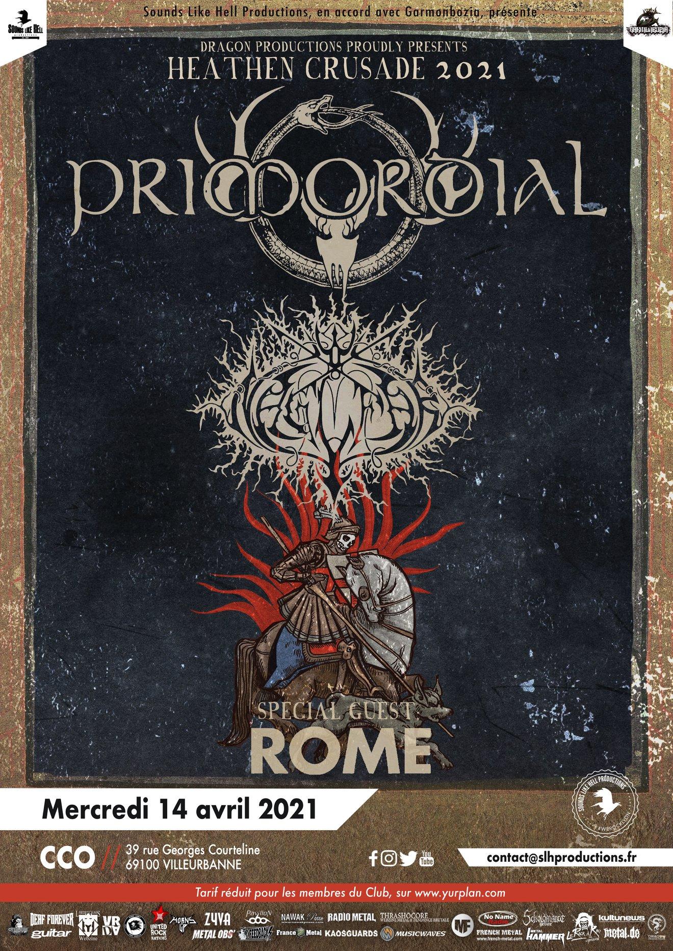 PRIMORDIAL [Lyon - 69] > 14-04-2021
