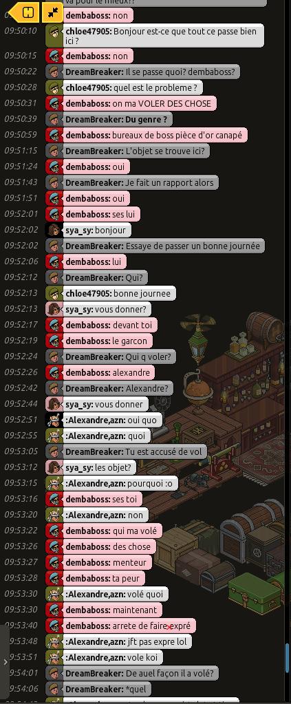 [CM] Rapports de patrouille de DreamBreaker Nm8Yl