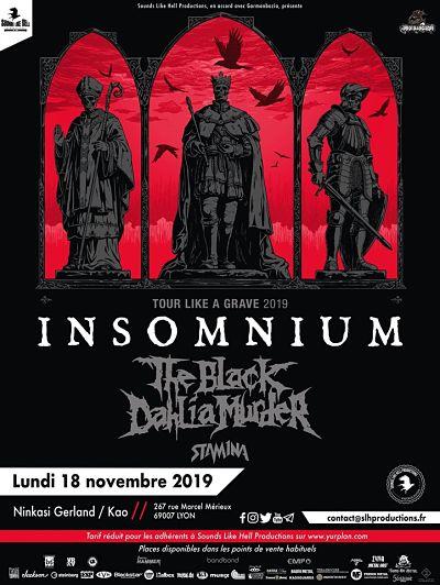 INSOMNIUM [Lyon - 69] > 18-11-2019