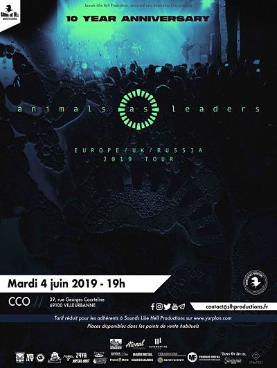 ANIMAL AS LEADERS [Lyon - 69] > 04-06-2019