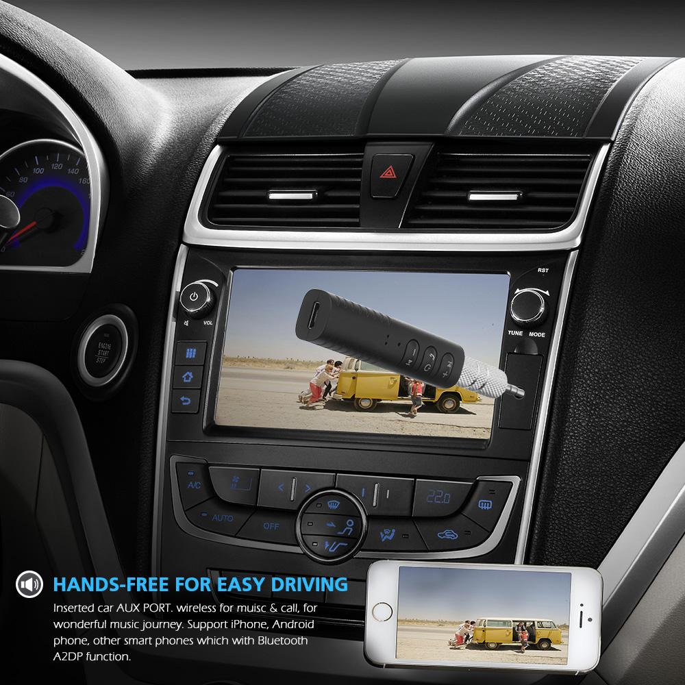 jack bluetooth voiture kit mains libres musique audio r cepteur adaptateur ebay. Black Bedroom Furniture Sets. Home Design Ideas