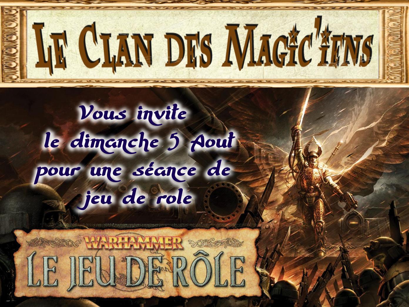 Dimanche 5 Aout : Jeu de rôle (Warhammer) à partir de 14 h OaqgW