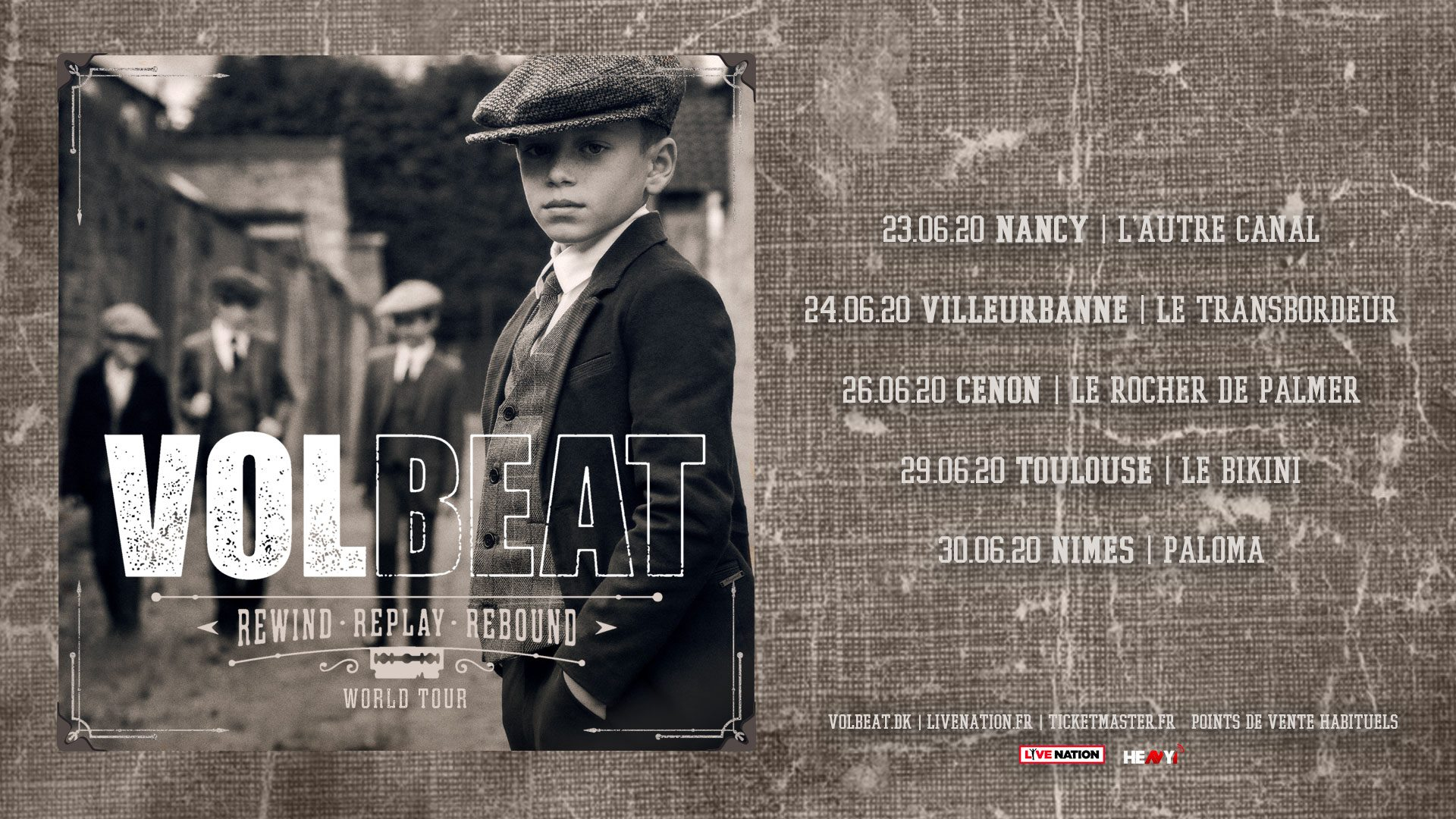 VOLBEAT [Lyon - 69] > 24-06-2020
