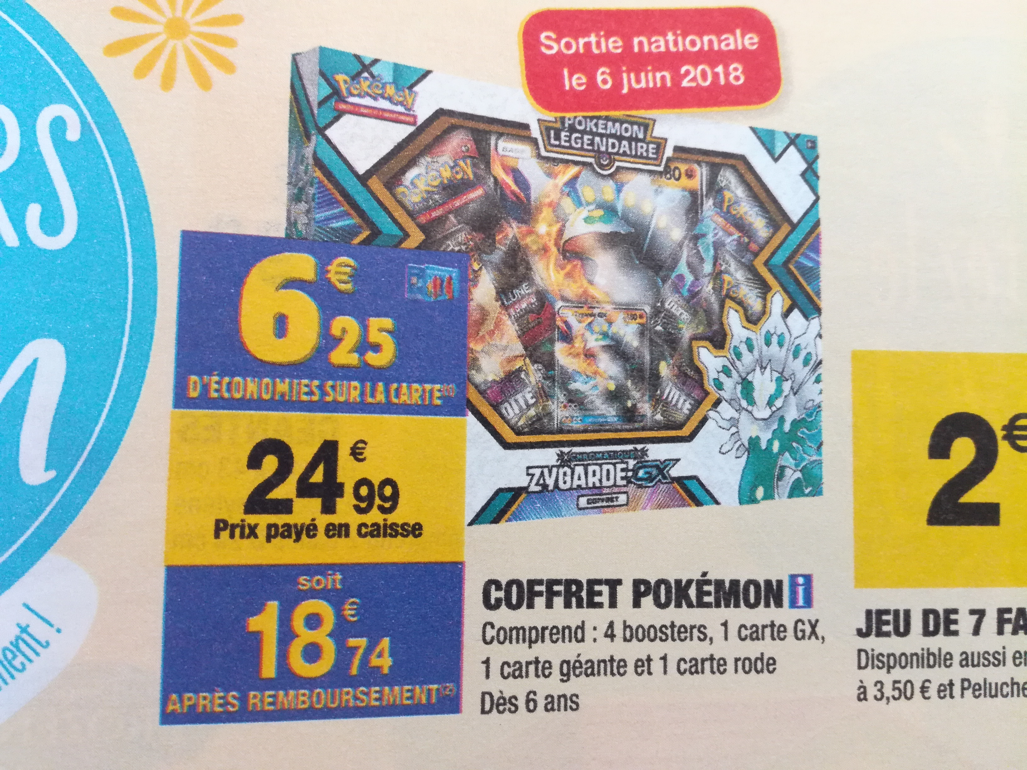 coffret pokemon noel 2018 carrefour Bonnes affaires] Display/Pack/Booster/Deck/Coffret   Page 34  coffret pokemon noel 2018 carrefour