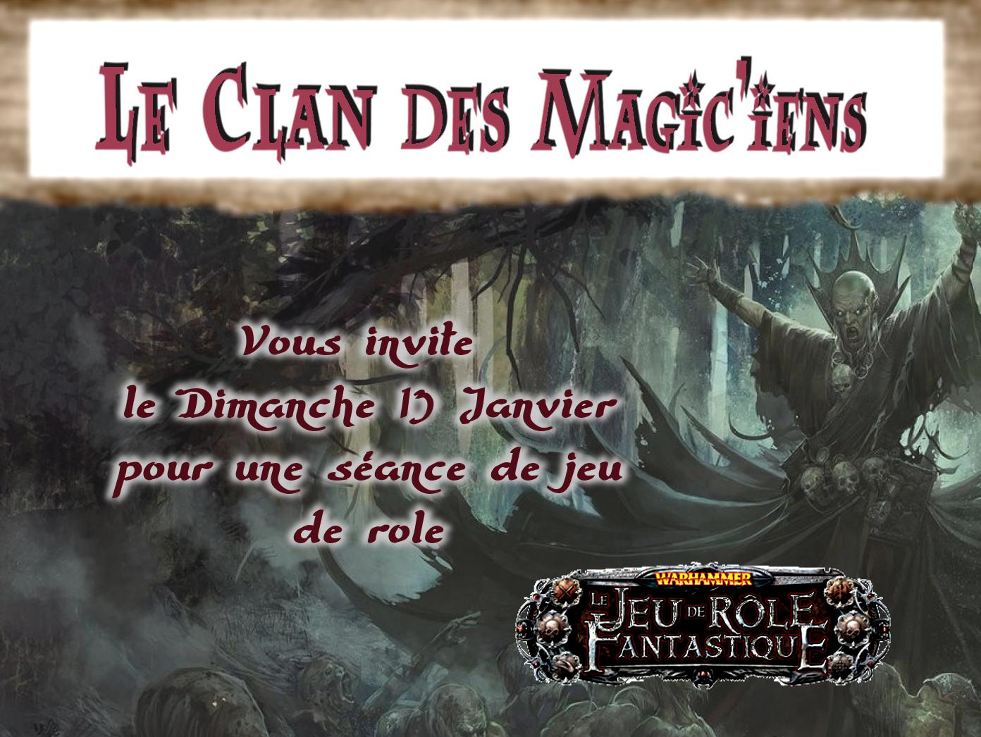 Dimanche 13 Janvier : Jeu de rôle (Warhammer) à partir de 14h OxovG