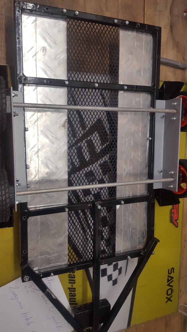 Fabrication remorque plateau à suspension ou balancier P3oEZ